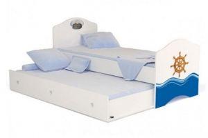 Кровать классика Ocean для мальчика - Мебельная фабрика «ABC King»