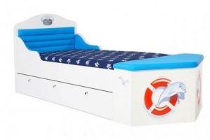 Кровать-корабль Ocean - Мебельная фабрика «ABC King»