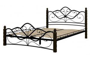Кровать кованная Венера 1 - Импортёр мебели «Мебвилл»