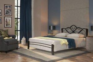 Кровать кованная Венера 4 - Импортёр мебели «Мебвилл»