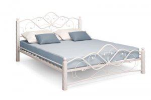 Кровать кованная Венера  белая - Импортёр мебели «Мебвилл»