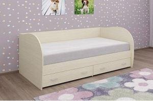 Кровать светлая КР 113 - Мебельная фабрика «Д'ФаРД»