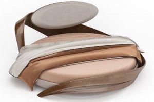 Кровать круглая Бразо - Мебельная фабрика «Актуальный Дизайн»