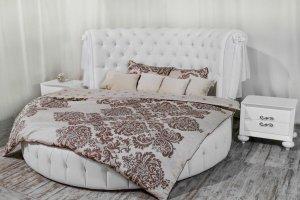 Кровать круглая Ceppi - Мебельная фабрика «SoftWall»