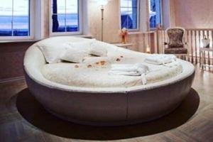 Кровать круглая Жемчужина - Мебельная фабрика «Nature Mark»