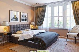 Кровать Лагуна - Мебельная фабрика «Бонмебель»