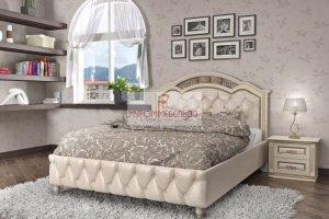 Кровать Лаура с каретной стяжкой - Мебельная фабрика «МуромМебель (ИП Баранихина Г.И.)»