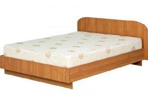 Кровать ЛДСП 1 - Мебельная фабрика «Лама»