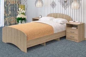 Кровать ЛДСП К 120 - Мебельная фабрика «Пирамида»