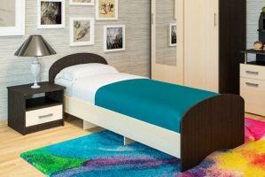 Кровать ЛДСП К 90 - Мебельная фабрика «Пирамида»