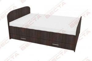 Кровать ЛДСП односпальная - Мебельная фабрика «Веста»
