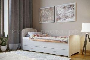 Кровать ЛДСП с ящиками - Мебельная фабрика «Веста»