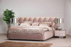Кровать Леа 1800*2000 с подъемным механизмом и ящиком для белья - Мебельная фабрика «Маск»