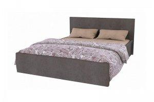 Кровать Лея 1,6 велюр - Мебельная фабрика «Приволжская»