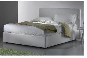 Кровать белая Лиана - Мебельная фабрика «ИЛ МЕБЕЛЬ»