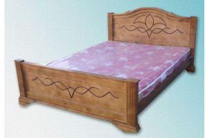 Кровать Лилия из массива дерева - Мебельная фабрика «Мебель Мос»