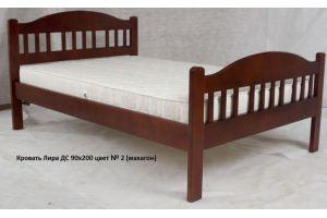 Кровать Лира ДС из массива - Мебельная фабрика «Егорьевск»
