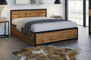 Кровать Лофт 3 - Мебельная фабрика «ЯСЕНЬ-ПЕНЬ»