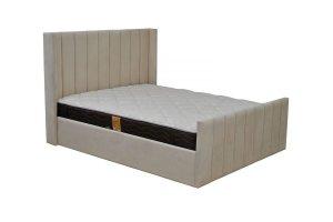 Кровать с изножьем Луиза - Мебельная фабрика «Симбирск Лидер»