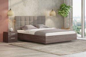 Кровать Luiza ясень анкор - Мебельная фабрика «СОНУМ»