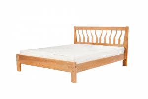 Кровать Любава из массива бука - Мебельная фабрика «Фабрика сна»