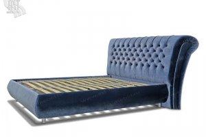 Кровать Мадонна утяжка кристалл - Мебельная фабрика «АСТ-мебель»