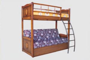 Кровать Малыш с диваном - Мебельная фабрика «Авеста»