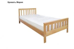 Кровать Мария из массива дерева - Мебельная фабрика «София»