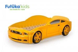 Кровать-машина Мустанг 3D - Мебельная фабрика «Футука Кидс»