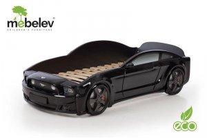 Кровать-машина Мустанг 3D для мальчика - Мебельная фабрика «МебеЛев»