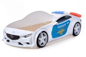 Кровать машина объемная  EVO МАЗДА - Мебельная фабрика «Футука Кидс»