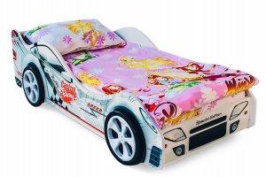 Кровать машинка Безмятежность - Мебельная фабрика «Бельмарко»