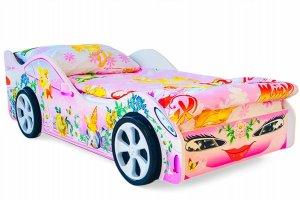 Кровать машинка Фея - Мебельная фабрика «Бельмарко»