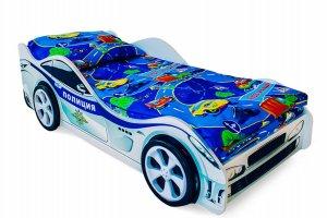 Кровать-машинка Полиция - Мебельная фабрика «Бельмарко»