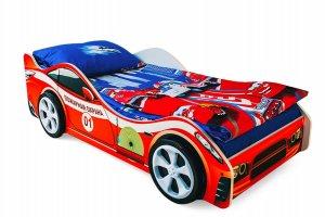 Кровать-машинка Пожарная охрана - Мебельная фабрика «Бельмарко»