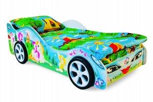Кровать-машинка Принцесса - Мебельная фабрика «Бельмарко»