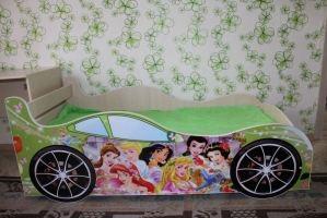 Кровать-машинка Принцессы - Мебельная фабрика «ПМК ВиП»