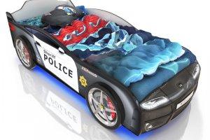 Кровать-машинка Romack Kiddy Полиция - Мебельная фабрика «Romack Möbel»