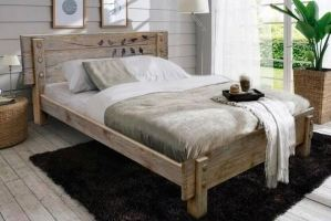 Кровать массив Анабель 38 - Мебельная фабрика «Брянск-мебель»
