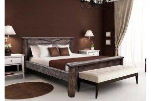 Кровать массив Анабель 39 - Мебельная фабрика «Брянск-мебель»