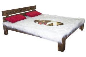 Кровать массив искусственно состаренная  №2 - Мебельная фабрика «Престиж-Л», г. Липецк