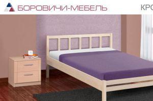 Кровать массив Село - Мебельная фабрика «Боровичи-Мебель»