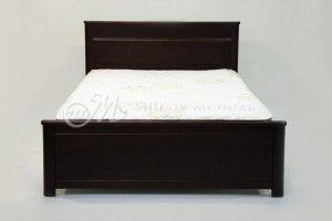 Кровать массив сосны Эвелина - Мебельная фабрика «ШиковМебель»