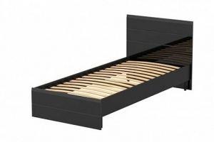Кровать МДФ 900 Лайт глянец - Мебельная фабрика «FURNY»