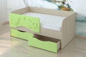Кровать МДФ Дельфины КР 05 - Мебельная фабрика «Милайн»