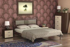 Кровать металлическая Мелина - Мебельная фабрика «Гайвамебель»