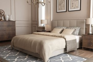 Кровать Mercedes МП бюджетная - Мебельная фабрика «Strong»
