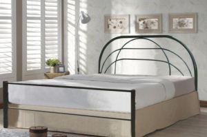 Кровать металлическая - 5 - Мебельная фабрика «Алина-мебель»