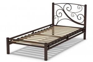 Кровать металлическая Фантазия 3 - Мебельная фабрика «Гайвамебель»