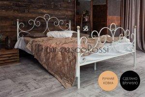 Кровать металлическая Флоренция 2 - Мебельная фабрика «Francesco Rossi»